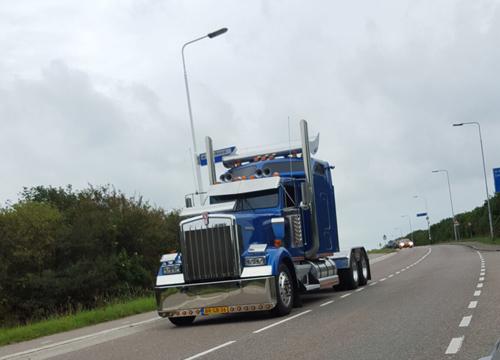 Liefde voor vrachtwagens