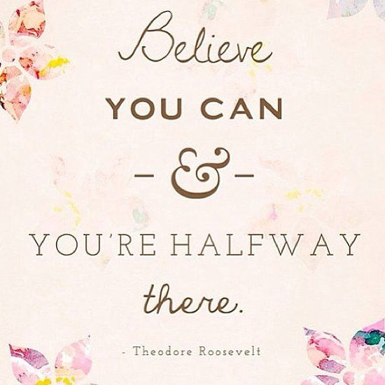 quote believe you can