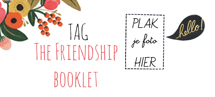 tag friendship booklet