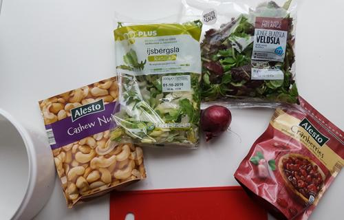 ingredienten salade