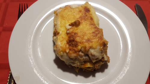 365 plates #72 Lasagne en gezelligheid