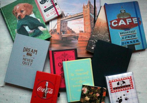Column – verzameling van notitieboekjes