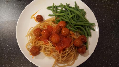 365 plates #85 Super simpele spaghetti