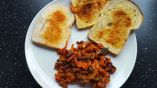 Recept – Chili con Kelly zonder chili