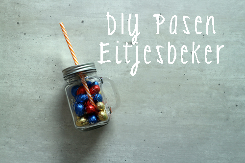 Pasen in een mason jar – Do it yourself