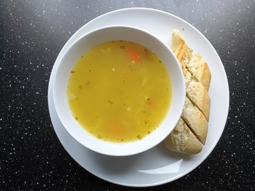 365 plates #153 een lange dag met soep