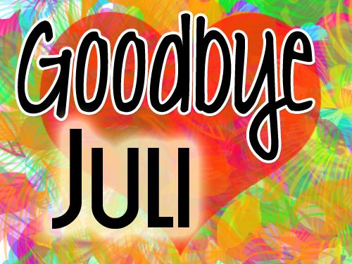 Het einde van Juli, een terugblik en vooruitblik!