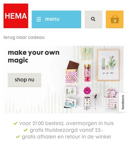 Wishlist- Nieuwe cadeaus bij Hema