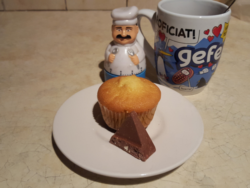 Recept voor Toblerone cupcakes