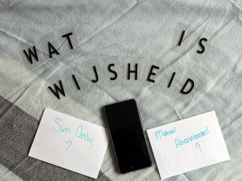 Wat is wijsheid? #1 mobiel abonnement of sim only