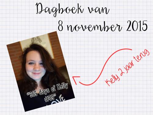 Een terugblik in het dagboek: 8 november 2015