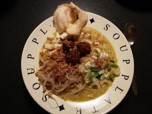 Favoriete gerechten van november! Lekker Indonesisch