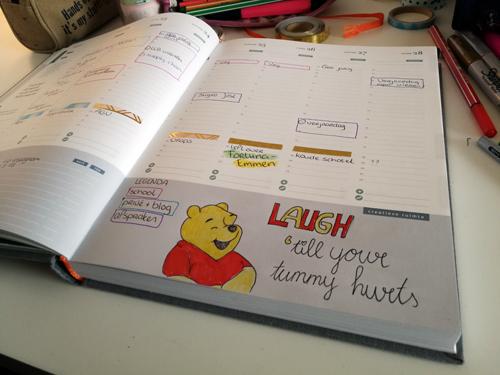 Hoe ik mijn week plan in de Purpuz planner