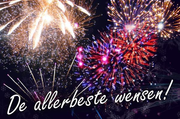 De allerbeste wensen voor 2018!