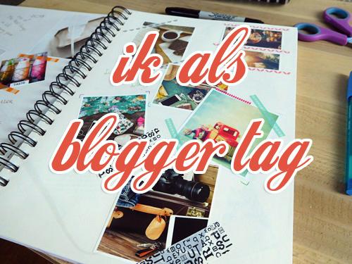De ik als blogger tag