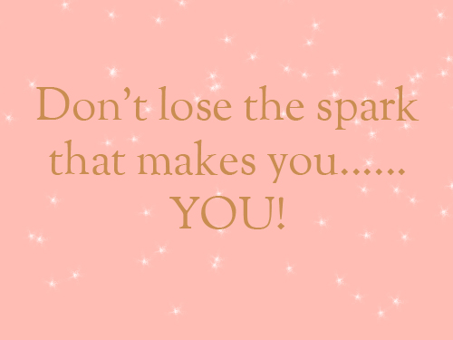 Don't lose the spark