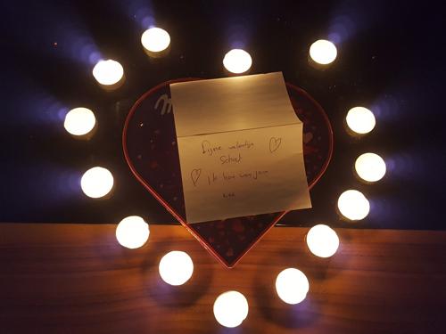 Liefde gaat misschien toch door de maag #valentijnsideeën