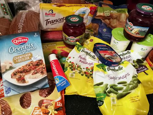 Bij Zus' boodschappenwagen: de groenten waren op!