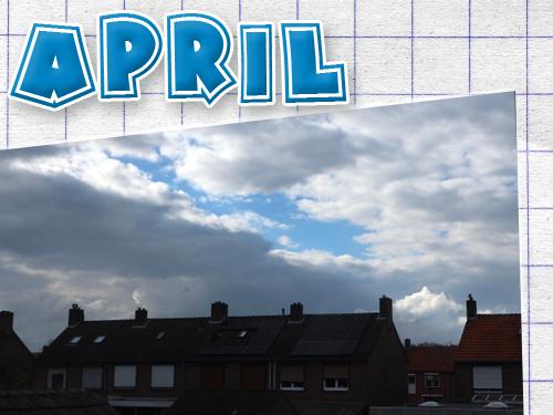 Welkom april! Vrolijk Pasen en een blik op april