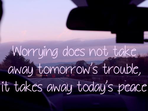 Onrust voor de volgende dag – quote