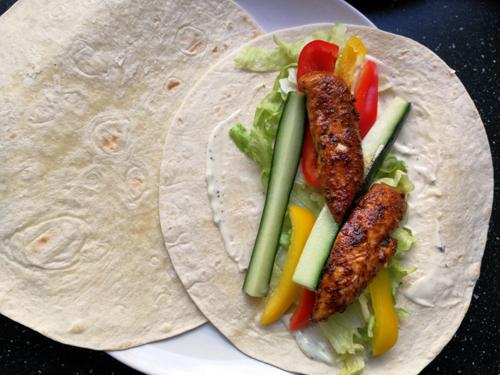 Recept – Grieks gekruide wraps voor diner