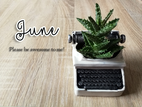 Welkom juni: laatste maand school en weer bloggen