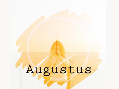 Hi augustus! de maand van drukte en meer tijd voor Bij Zus