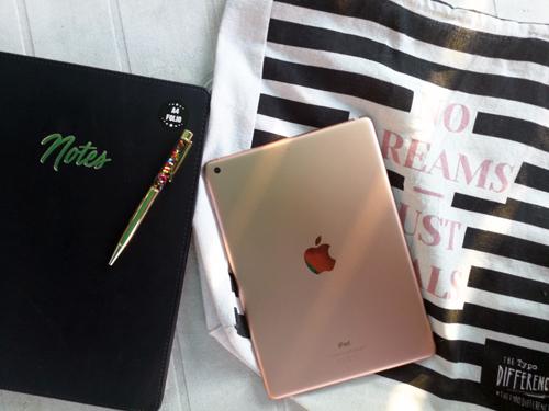 Een iPad van mijn eerste loon
