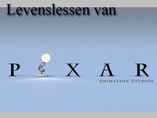 What Pixar taught me..