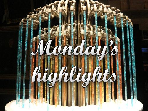 Monday's highlights: een oude rubriek in een heel nieuw jasje