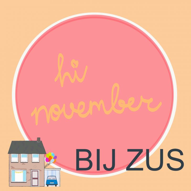 Hi november! 1 jaar Bij Zus