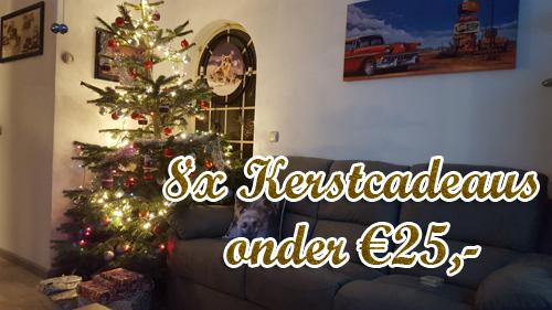 8x leuke kerstcadeaus onder €25