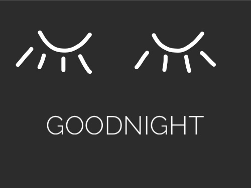 Slaap lekker tip