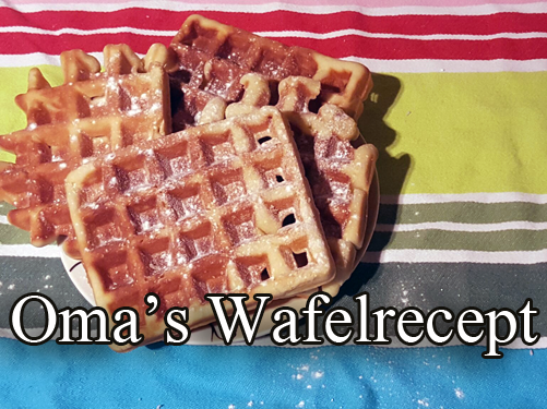 Recept – Oma's wafelrecept en homemade bakmix review