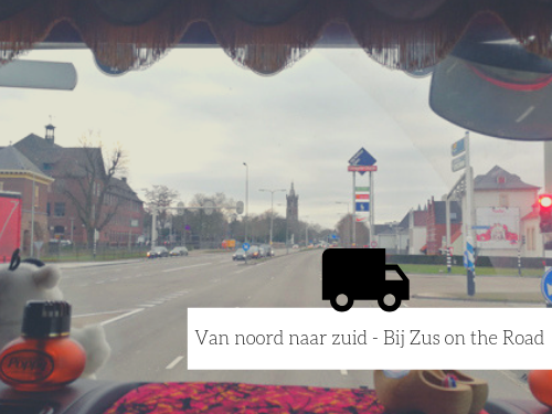 Bij Zus on the road #9 Van noord naar zuid