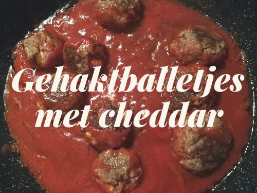 Recept – Gehaktballetjes met cheddar
