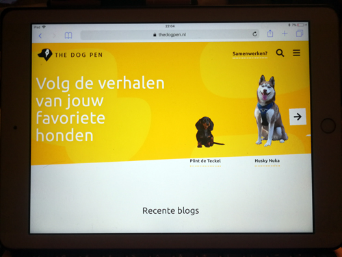 The Dog Pen – een hondenbloggers platform
