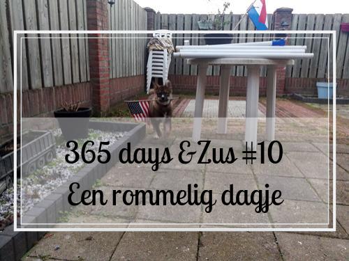 365 days &Zus #10 een rommelig vrij dagje