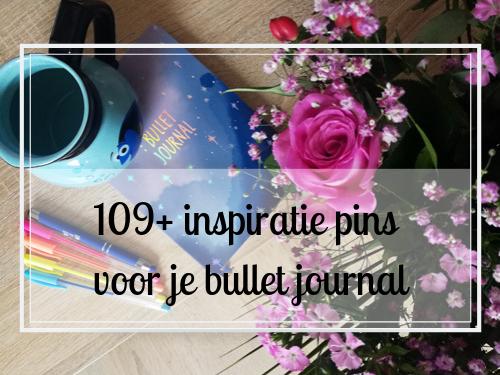 109+ toffe inspiratie pins voor je bullet journal