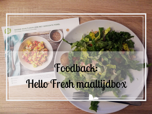 Foodback: Hello Fresh maaltijdbox