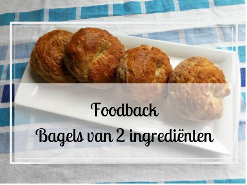 Foodback: bagels van 2 ingrediënten