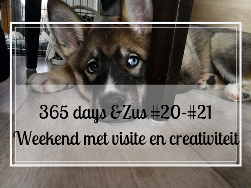 365 days &Zus #20 – #21 weekend met visite en creativiteit