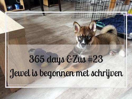 365 days &Zus #23 Jewel is begonnen met schrijven