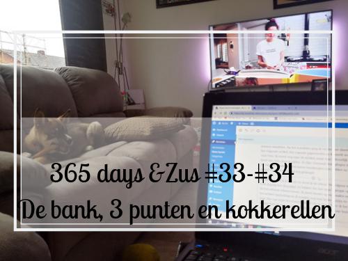 365 days Zus #33-#34 de bank, 3 punten en kokkerellen