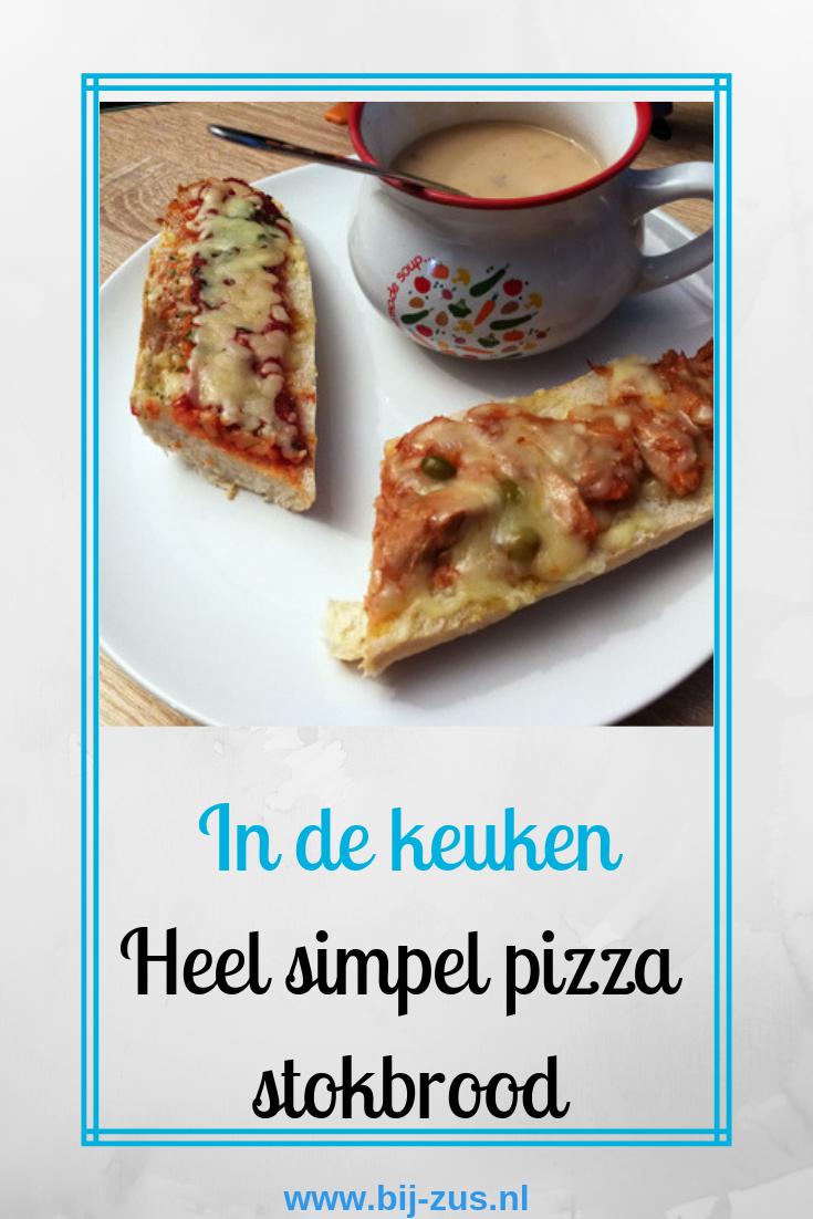 Pinterest pizza stokbrood