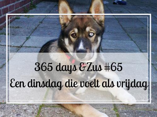 365 days &Zus #65 Een dinsdag die voelt als vrijdag