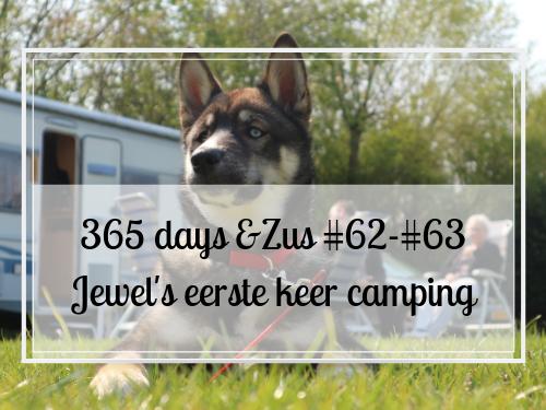 365 days &Zus #62-#63 Jewel's eerste keer camping