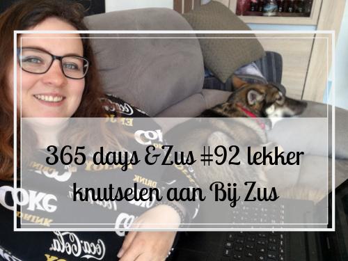 365 days &Zus #92 lekker knutselen aan Bij Zus