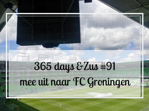 365 days &Zus #91 mee uit naar FC Groningen