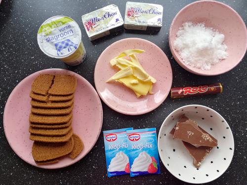 mislukte cheesecake